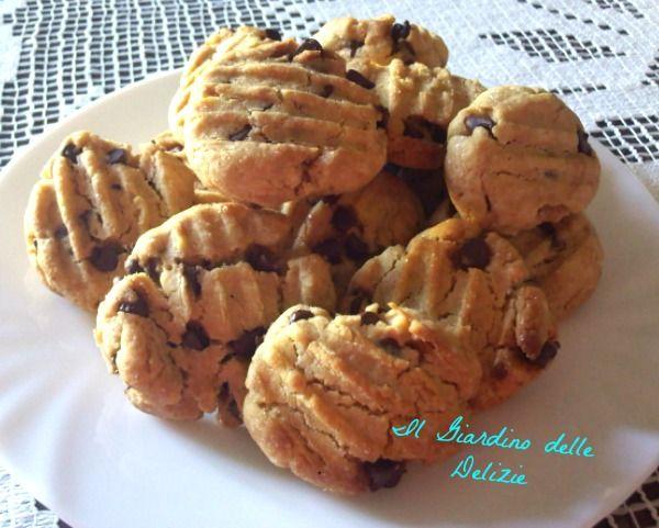 Biscotti con farina di kamut e cioccolato