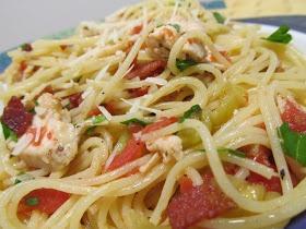 Chicken Capellini CapricciosI  For gluten free sub with gf pasta