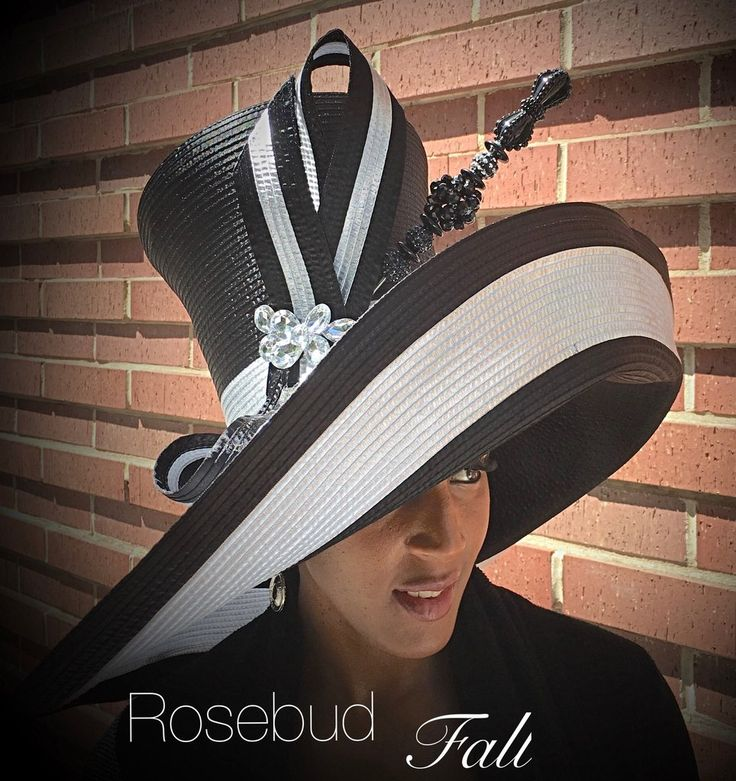7 inch crown 9 inches brim with a bow and rhinestone brooch. hat pin not included 7 to 10 business day to ship.