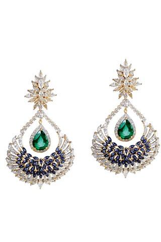 'Reviere' earrings by Farah Khan Fine Jewellery