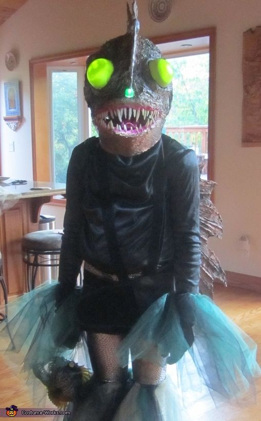 1000 images about wobble cabaret and costume inspiration for Angler fish costume
