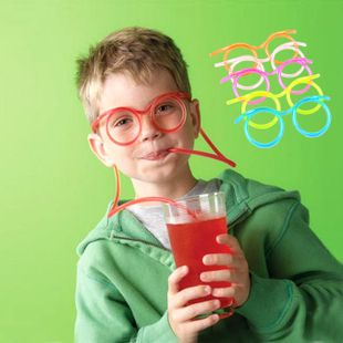 Funny Glasses drinking straws Child interesting gadgets Free shipping #shoes, #jewelry, #women, #men, #hats, #watches, #belts