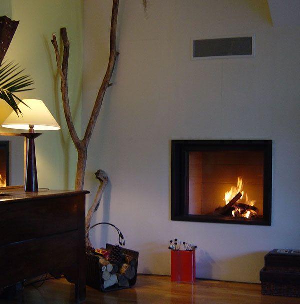 chemin e avec cadre en metal foyer stuv 21 85 fireplace. Black Bedroom Furniture Sets. Home Design Ideas
