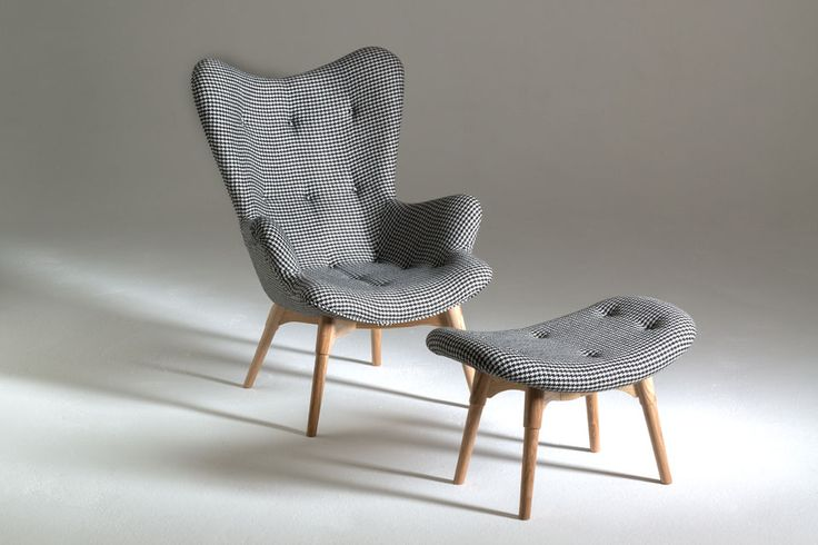 Grazia and Co - Australian made custom furniture. - R160 Contour Armchair