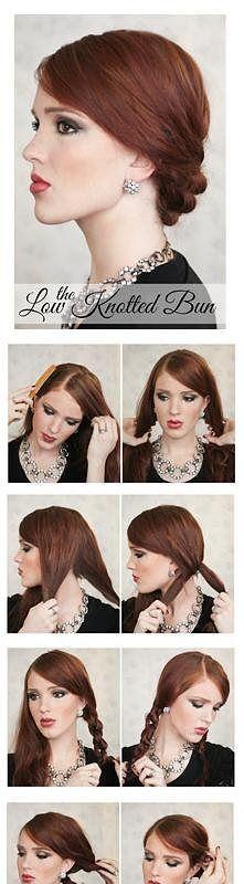 elegancka fryzura na święta