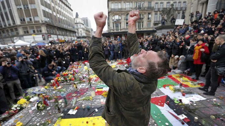 RETO 7: FOTONOTICIA. Atentados en Bruselas 2016. #RetoVisual0911 #CA0911