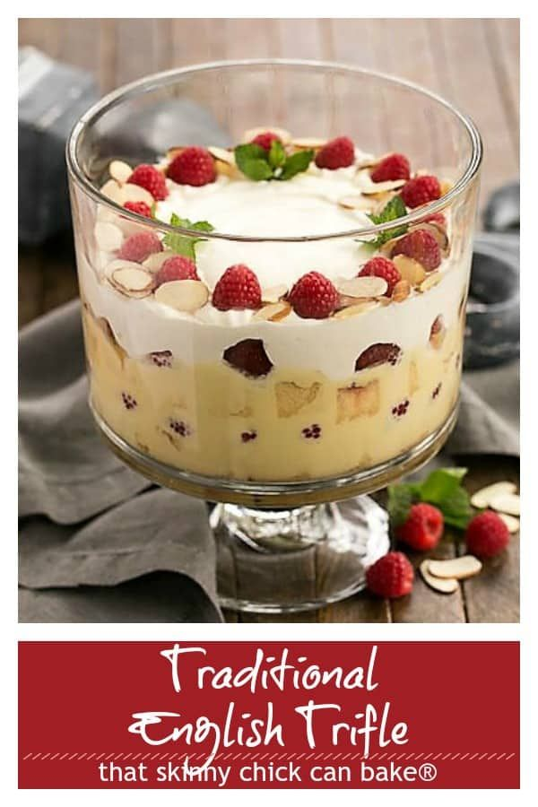 Traditional English Trifle A Classic Christmas Dessert Recipe Recipe British Desserts Trifle Recipe Dessert Recipes Easy