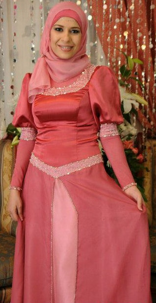 Princess #Hijab Gown