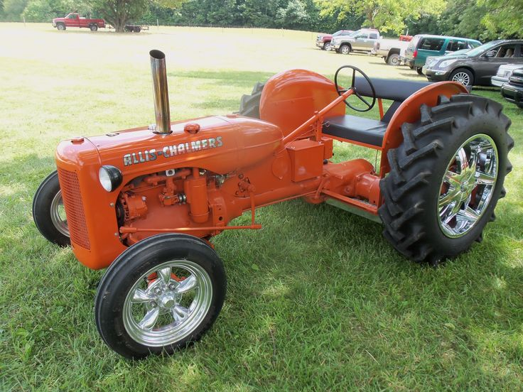 Allis Chalmers hot rod tractor