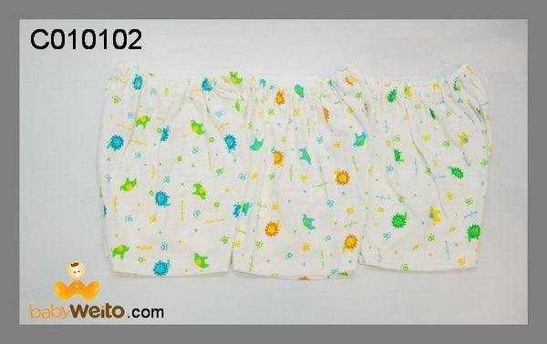 C010102  Celana pendek  Bahan halus dan lembut  Ukuran: S  Warna sesuai gambar  IDR 50*/ 3pcs