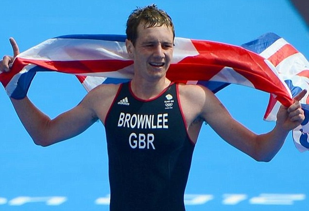 Alistair Brownlee claims triathlon gold with brother Jonny taking bronze     Alistair Brownlee became Great Britain's first ever triathlon champion, ahead of Spain's Javier Gomez and brother Jonny Brownlee, to seal the nation's 19th gold of the London Games.