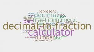 Decimal to Fractions Calculator http://www.howmuchdoi.com/math/Decimal-to-Fraction-Calculator-375.html