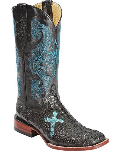 Ferrini Women's Print Caiman Cross B Western Boot, Black, 7 B US Ferrini http://www.amazon.com/dp/B00NP322BO/ref=cm_sw_r_pi_dp_1eJ3ub0EP9TMR