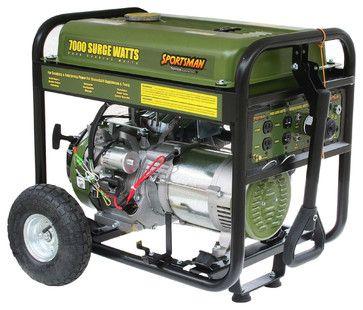 Sportsman Series Gasoline 7000 Watt Generator contemporary-outdoor-power-equipment