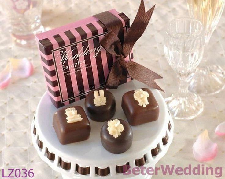 12box=48pcs chocolade taart kaars bruiloft gunsten lz036 bruiloft decoraties, huwelijksgeschenk, bruiloft souvenir_hotel faciliteiten