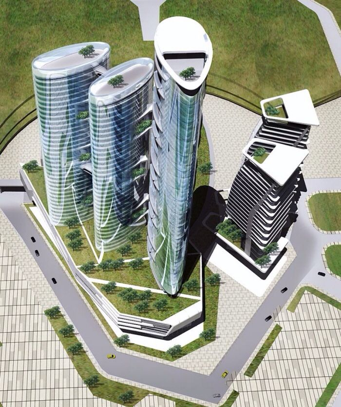 offices tower design concept design concept on various projects