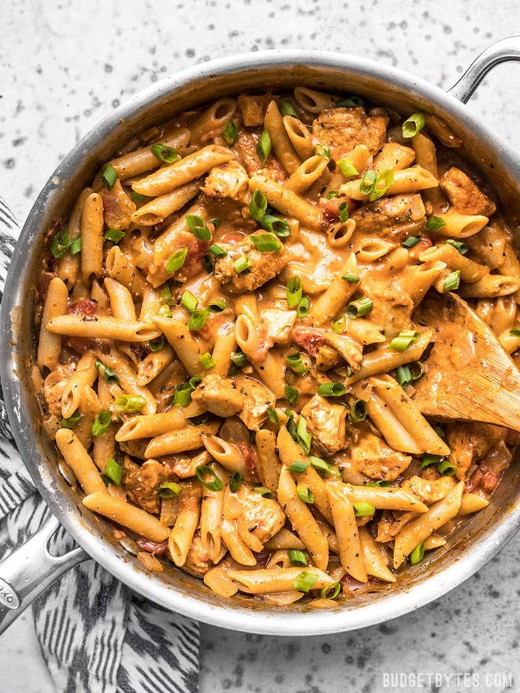 One Pot Creamy Cajun Chicken Pasta Recipe Chicken Pasta Recipes Cajun Chicken Pasta