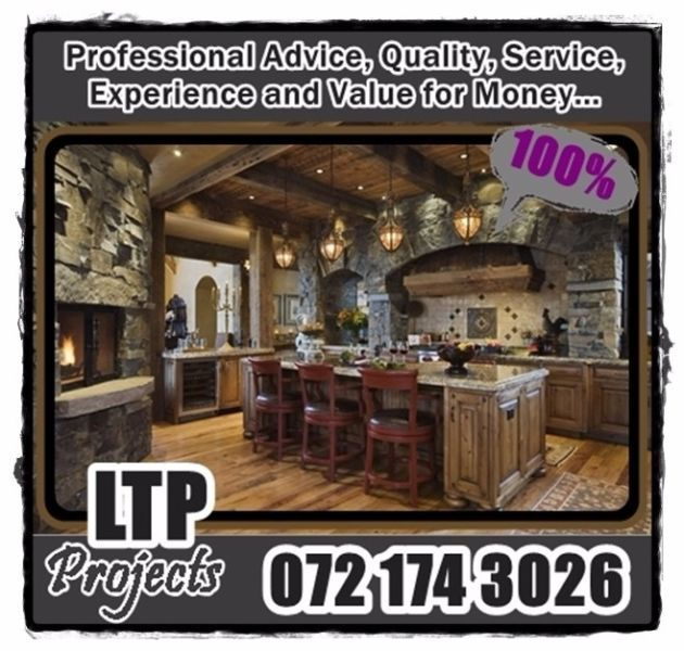 You can now find LTP Projects on Look4Design. Make sure to contact us for all your Carpentry, Renovation and Electrical requirements. You can contact us on 072 174 3026 or chat with us on our Facebook pagehttps://www.facebook.com/ltp.projects.pta/