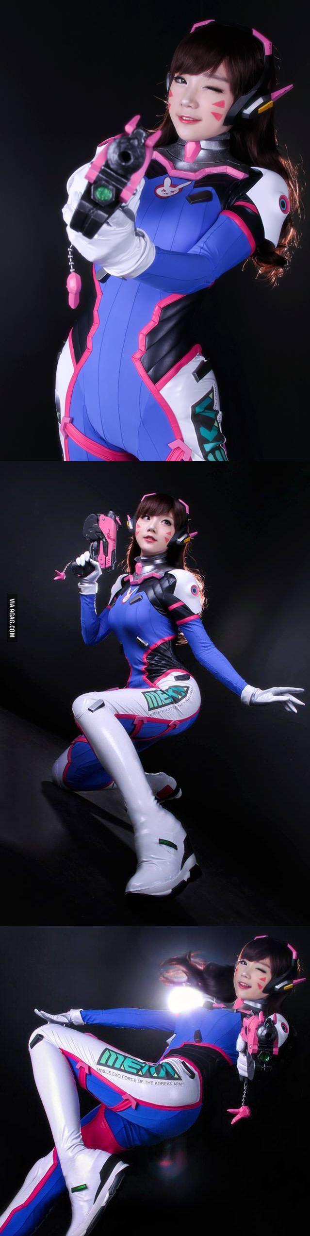 Overwatch D.VA by Miyuko