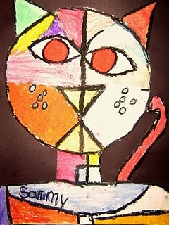 Paul Klee lines and shapes
