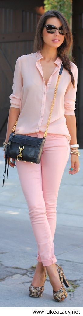 Pink clothes... perfect for Spring