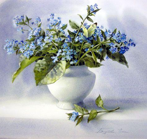 elena bazanova watercolors -