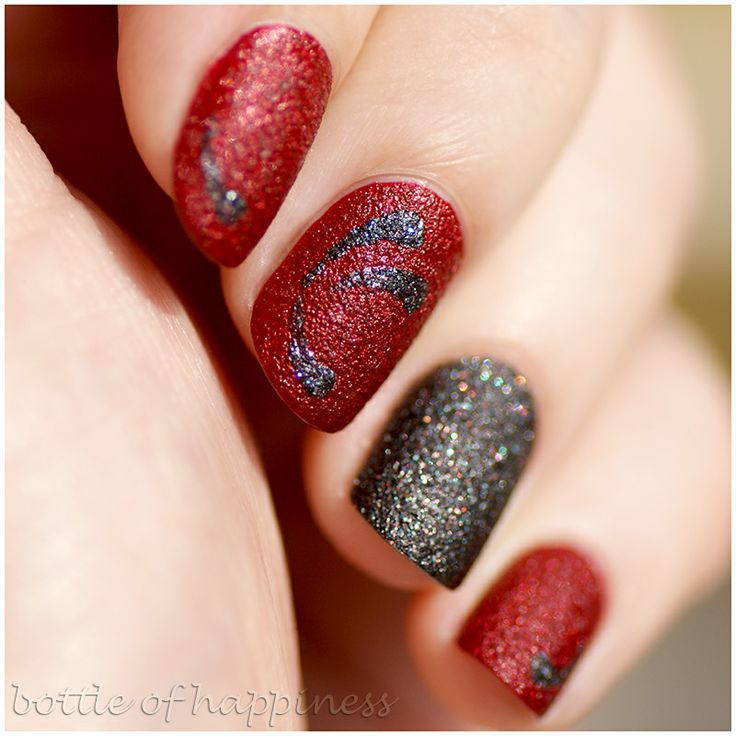 Wibo WOW Sand Effect 4 + Wibo WOW Glamour Sand 4 #nails #nailart