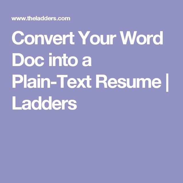 23 Plain Text Resume Examples In 2020 Resume Examples Good Resume Examples Resume