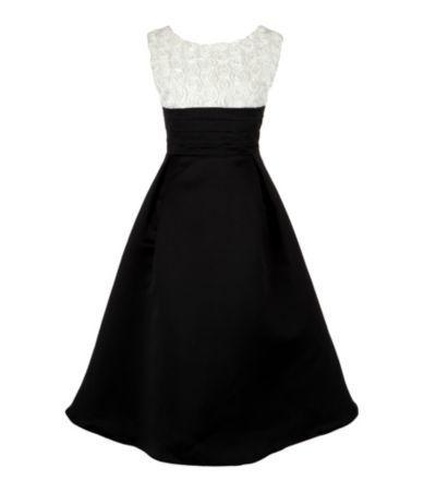 Rosette/Satin Dress: Girly Dresses, Pretty Dresses, Dream Dresses, Classic Dresses, Pretty Rosette Satin Dress, Bridal Shower Dresses, Soooo Pretty Rosette Satin, Classic Rosette Satin
