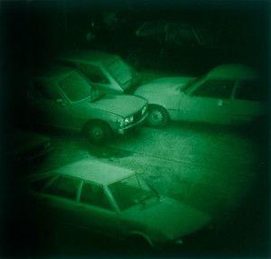 Thomas Ruff,  Nacht 9 II  (1992)