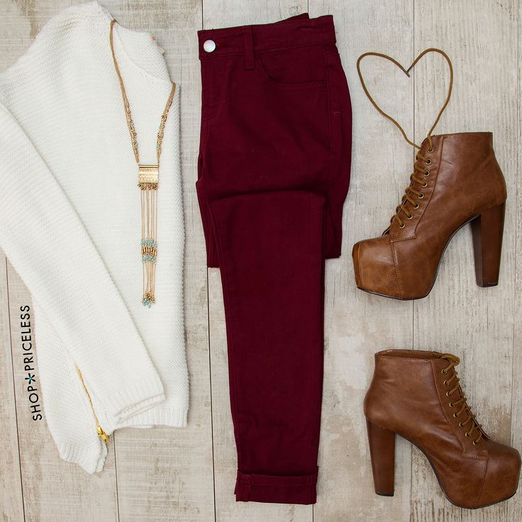 - Details - Size Guide - Model Stats - Contact Girl, you don't even have to try! These Try To Skinny Jeans in burgundy feature a stretch fabric with classic five-pocket styling. Zip-up and button clos