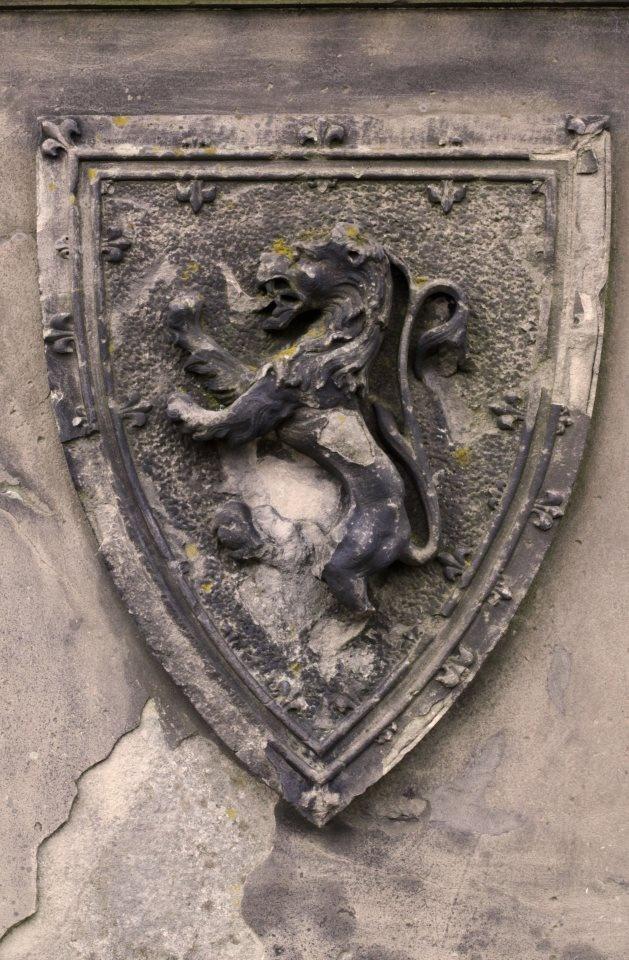 robert the bruce crest, stirling castle