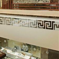 Labirinto Design Specchio Adesivo Parate Soffitto Arte Solatto Corridoio