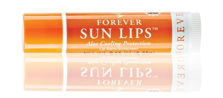 💋Is your pucker dry and sun-damaged? #Forever Sun Lips, is a soothing lip balm that works to protect the fragile tissue of your lips, with a cool, minty freshness that lasts.🌞