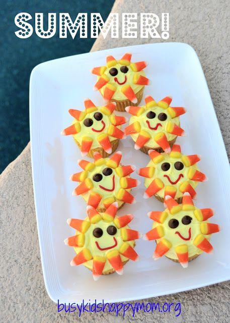Summer Sunshine Cupcakes