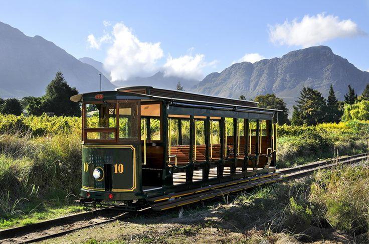 Franschhoek Wine Tram, South Africa Winelands. BelAfrique - Your Personal Travel Planner - www.belafrique.co.za