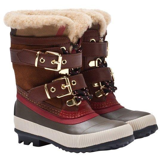 Burberry Boots House Check/Khaki HC/KHAKI - 2