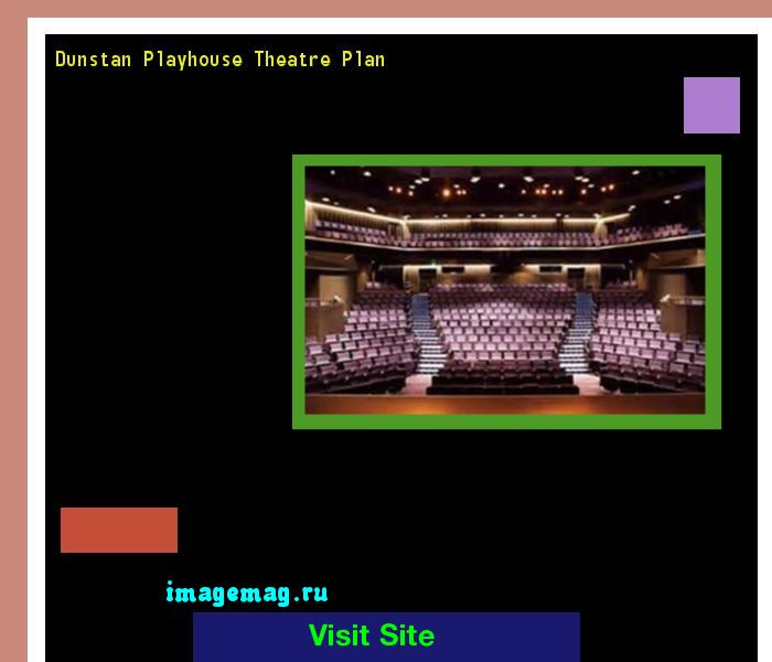 Dunstan Playhouse Theatre Plan 185040 - The Best Image Search