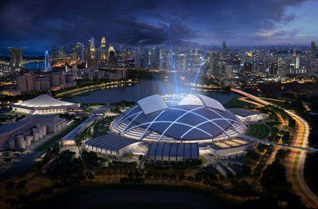 """En la categoría de """"Proyectos Futuros Ocio dirigido al desarrollo"""", el ganador va al Singapore Sports Hub."""