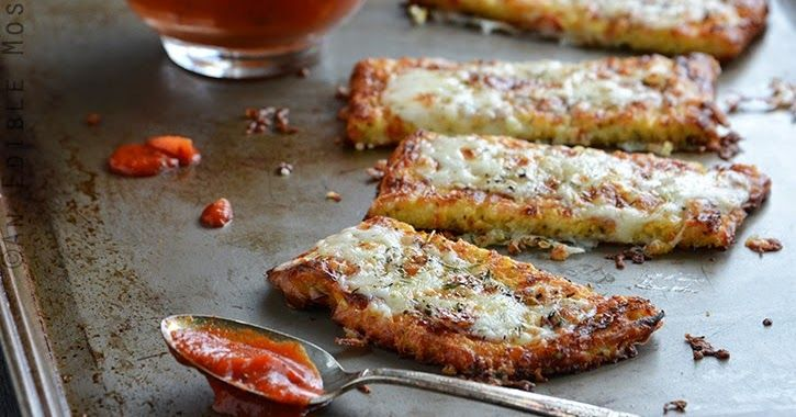 "Koolhydraatarm dieet en recepten: Krokante bloemkool ""brood crackers"""