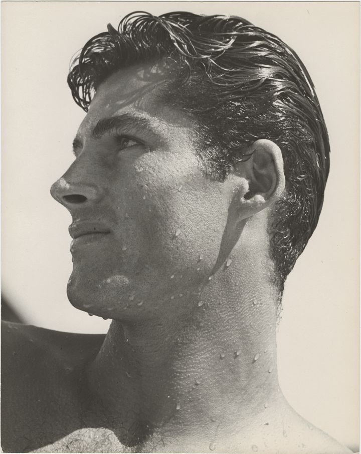 See, I told you I had a great #RockHudson photograph to pin up here.  Isn't he...well...you know.