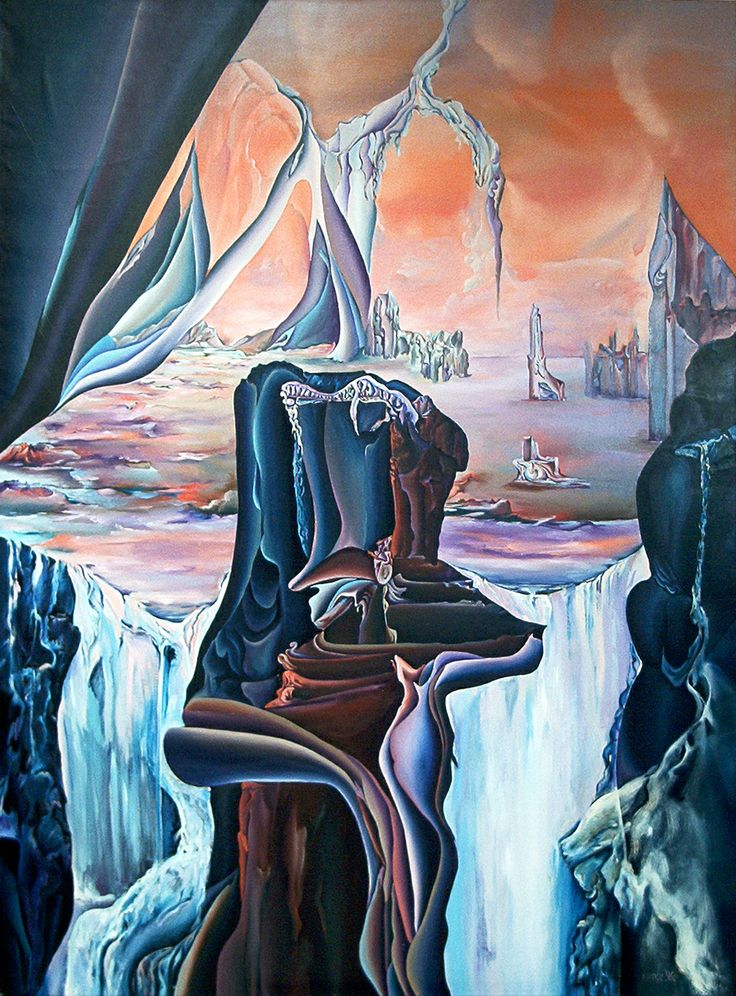 Gate of dimensions II. Size: 170 x 120 cm, oil on canvas