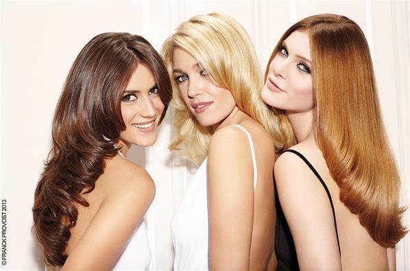 Tagli di capelli e acconciature alla moda 2013 per capelli corti e lungo (© Franck Provost)