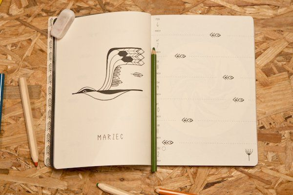 26 najbardziej stylowych kalendarzy na 2017 rok - 6