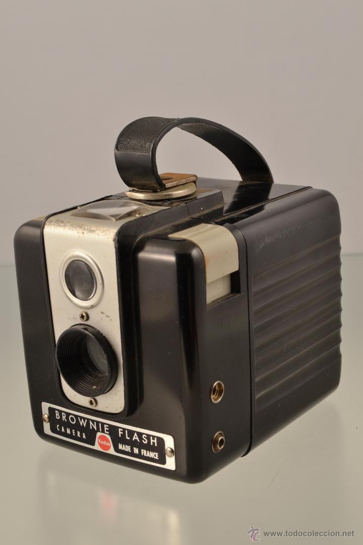 Cámara de fotos marca Kodak mod. Brownie flash - lote x - (Cámaras Fotográficas - Antiguas (hasta 1950))