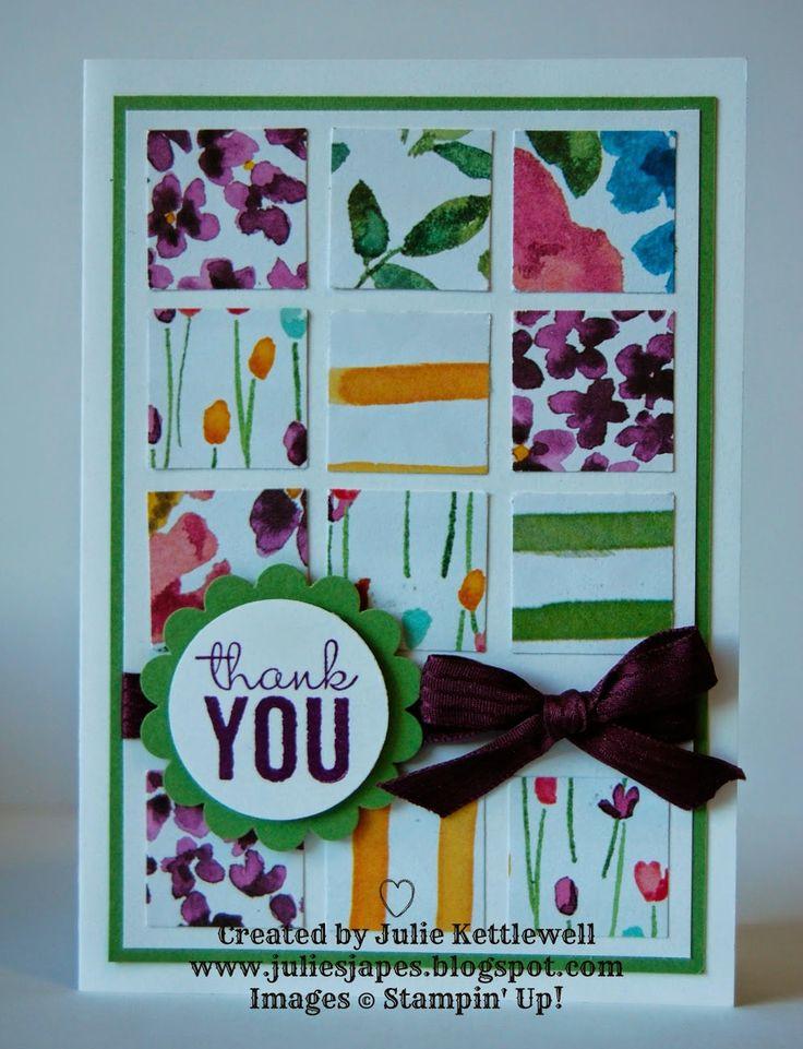 SU! Painted Blooms DSP - Julie Kettlewell