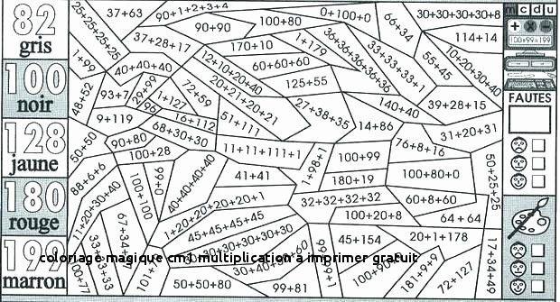 Coloriage Magique Cm1 Multiplication.Meilleur De 26 Coloriage Magique Cm1 Multiplication A