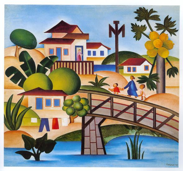 Tarsila do Amaral, O Mamoeiro  Tarsila, you're everything to me!!