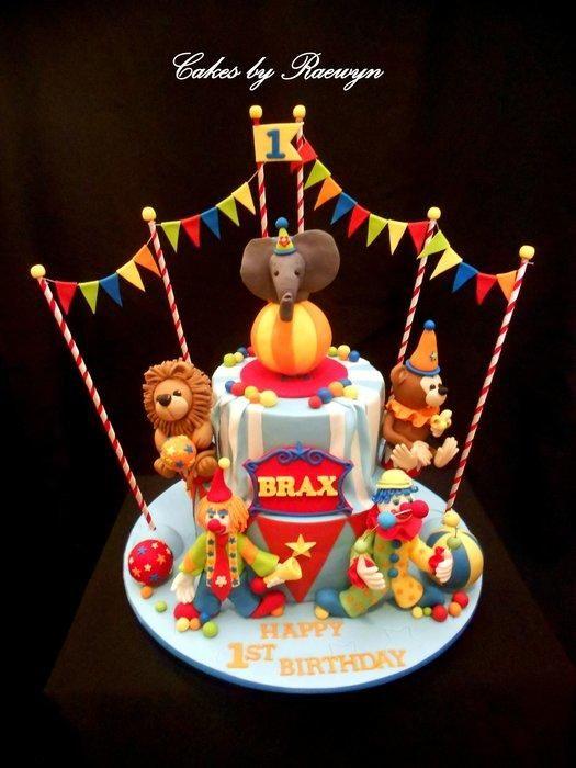 Circus Cake for Brax - Cake by Raewyn Read - Cakes by Raewyn