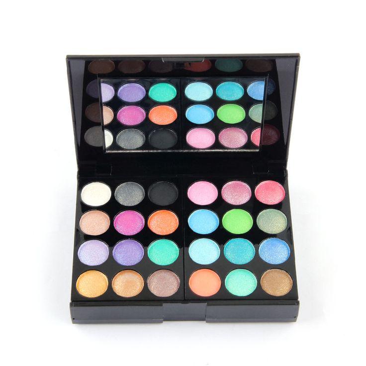 39 Colors Eye Shadow Palette Professional Makeup Palette Including Eyes Primer Luminous Lip Gross Blusher Powder